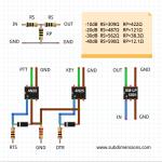 Interfaccia Modi digitali schemi elettrici